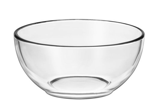Libbey Crisa Moderno Cereal Bowl, 6-Inch, Box of 12, Clear (Clear Sets Glass Dinnerware)
