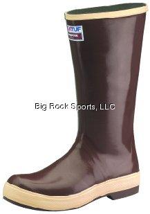 Knee Boots, Size 11, 16'' H, Brown, Plain, PR