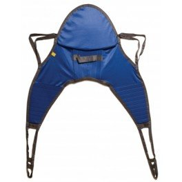 - Lumex DSHC70011 Hoyer Compatible Padded Sling with Head Support, Large, 500 lb. Weight Capacity, Best Fit 198-350 lb.
