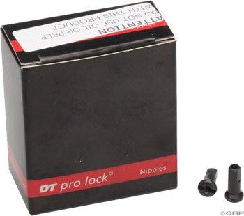 DT Swiss 2.0 x 12mm Black Brass Nipples, Box of 100