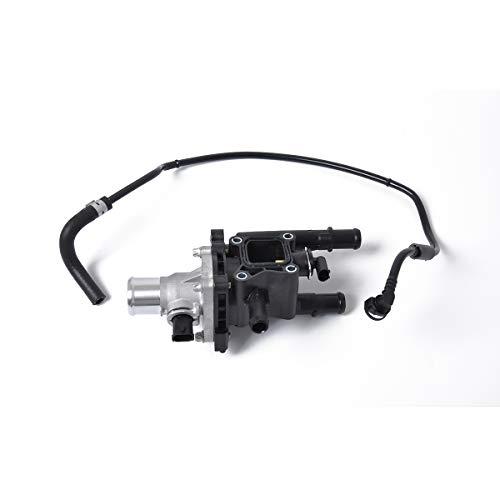 XuBa Engine Coolant Thermostat Housing 25192228+Throttle Body Hose 25192904 for Chevrolet Cruze