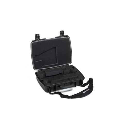 UPC 825494009700, Pelican iM2370 Storm Case with Custom Foam and Strap for HK-UMP Machine Gun, Black
