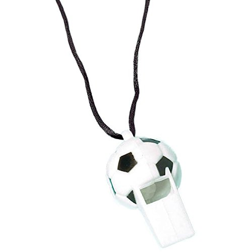 Soccer Whistle Favors (12 Pack) - Party Supplies by Amscan