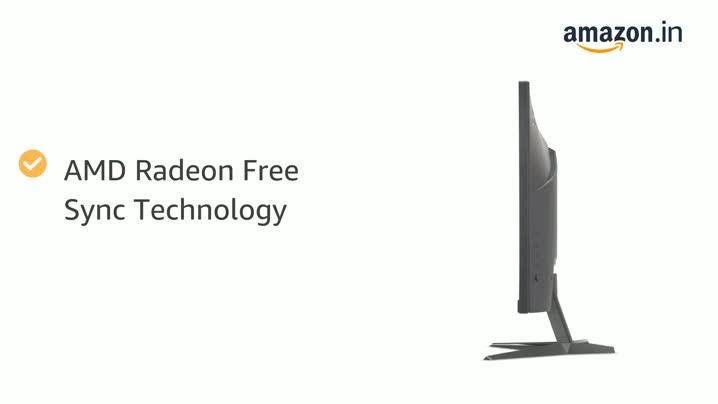 Acer Nitro QG221Q 21.5 Inch Full HD Gaming Monitor - VA Panel - 1 MS - 75 Hz - 250 Nits - AMD Free Sync - 1 X VGA 2 X HDMI