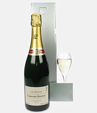 Sparkling Direct Laurent Perrier Send Champagne Reims Gift NV 75 cl: Amazon.co.uk: Grocery