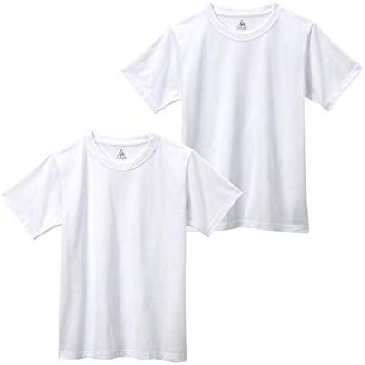 [nissen(ニッセン)] 下着・インナー スクール 下着・インナー 【lecoq(ルコック)】ベーシック白無地半袖丸首インナー2枚組(男の子 子供服・ジュニア服」)