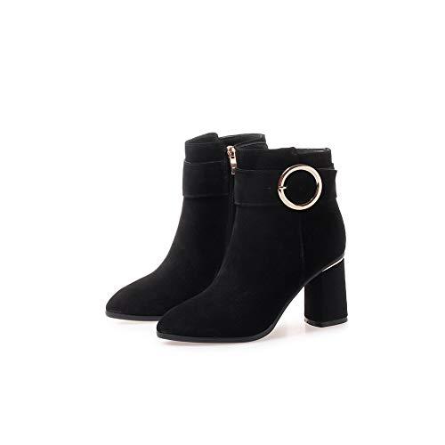 5 Femme Sandales Abm13225 36 Compensées Noir Noir Balamasa 8q07TwgFn