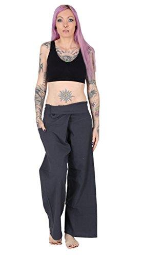 FAIR & GLOBAL - Pantalón deportivo - Básico - para mujer antracita