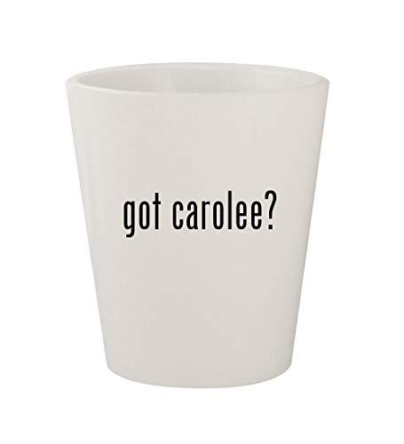 - got carolee? - Ceramic White 1.5oz Shot Glass