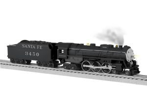 Lionel ATSF LionChief Plus Hudson Train - Steam Engine Hudson