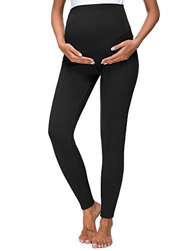 Love2Mi Women's Maternity Tights Leggings Versatile Comfy Pants Stretch Pregnancy ()