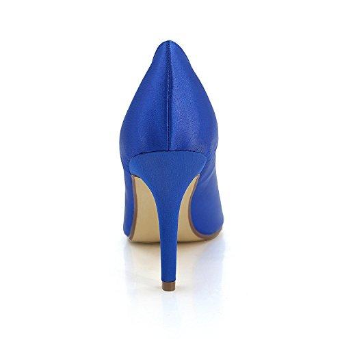 L@YC Tacones altos Para Mujeres Splendid Wedding Office & Evening Fiesta Profesional Fine Heel Yellow