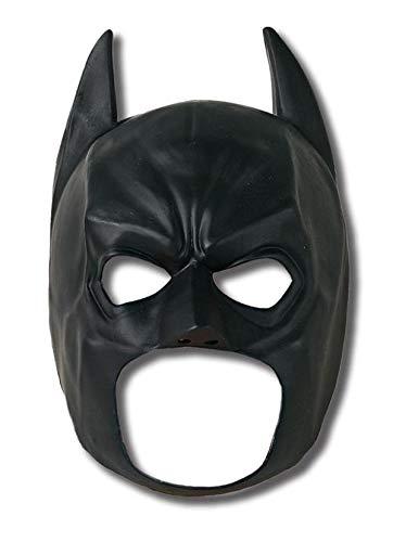 Rubie's The Dark Knight Rises: Batman 3/4 Mask, Child Size (Black) 4887]()