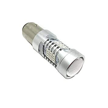 Zesfor® Bombilla LED P21/5W Roja Canbus (Doble Polo) - Tipo 78: Amazon.es: Coche y moto
