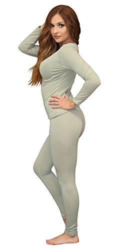 Women's Soft 100% Cotton Waffle Thermal Underwear Long Johns Sets (Medium, PH - Thermal Underwear Cotton