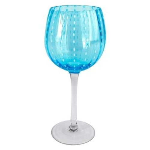Artland Cambria Goblet 18 oz (Set of 4), Turquoise
