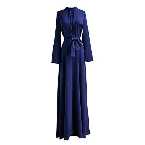 Buy belted linen dress - 7