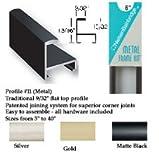 Nielsen Bainbridge Metal Frame Kit black 19 in.