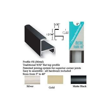 Amazon.com - Nielsen Bainbridge Metal Frame Kit black 30 in ...