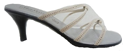 Galore Kengät Sandaali Beige Jeweled Valkoinen Strapppy O66qad