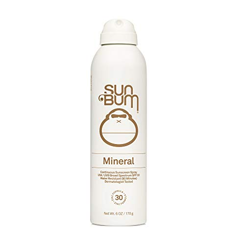 Sun Bum Mineral SPF 30 Sunscreen Spray | Vegan and Reef Friendly (Octinoxate & Oxybenzone Free) Broad Spectrum Natural…