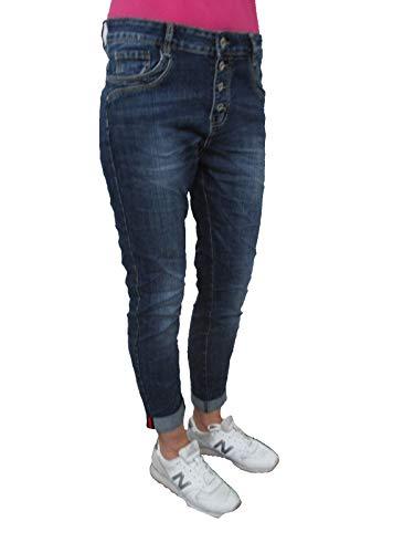 Jeans Femme Karostar Jeans by Boyfriend Bleu Lexxury Fonc wEI6IPq
