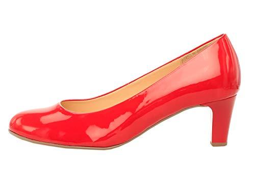 Con Scarpe Basic absatz 95 Gabor 38 red Tacco Rosso Shoes Eu Donna Eqt5qw8xTn
