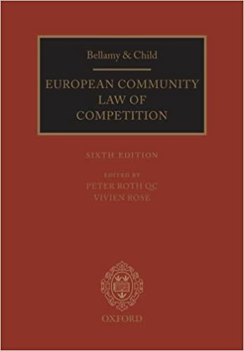 Bellamy & Child: European Community Law of Competition: 2010 Pack