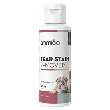Animigo Limpiador de Manchas de lágrimas Solución Tópica Líquida para Gatos y Perros 118ml: Amazon.es: Productos para mascotas