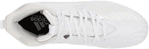 Pictures of adidas Men's Freak X Carbon Mid DB0243 White/White/White 2