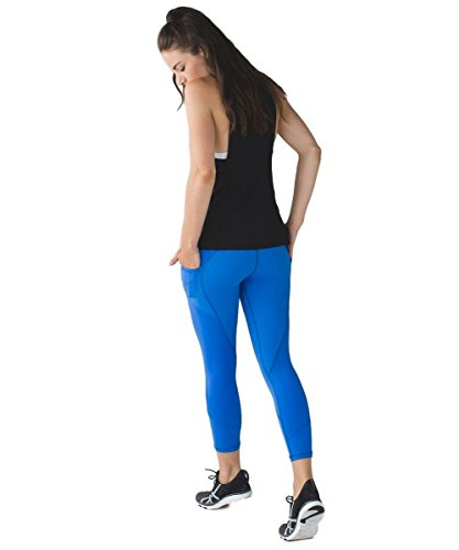 Lululemon All the Right Places Crop PDBL/MINZ Size 4