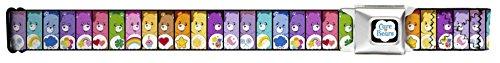 Care Bears Cartoon Characters Care-A-Lot Bears Seatbelt Belt (80s Characters)