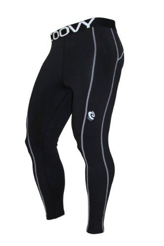COOVY Sports Midweight Compression Under Base Layer Armour Leggings / Tights