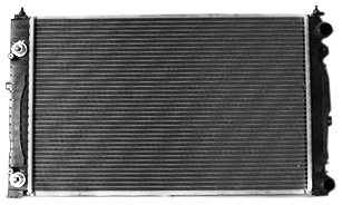 TYC 2034 Vollkswagen Passat 1-Row Plastic Aluminum Replacement Radiator