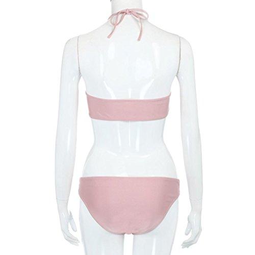 Vovotrade 2017 Húmedo Bikini mujer conjunto vendaje Push-Up rellenado traje de baño traje de baño ropa de playa