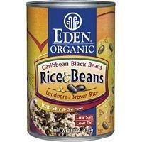 Eden Foods Caribbean Rice Black Beans 15 Oz (Pack of 12) by Eden