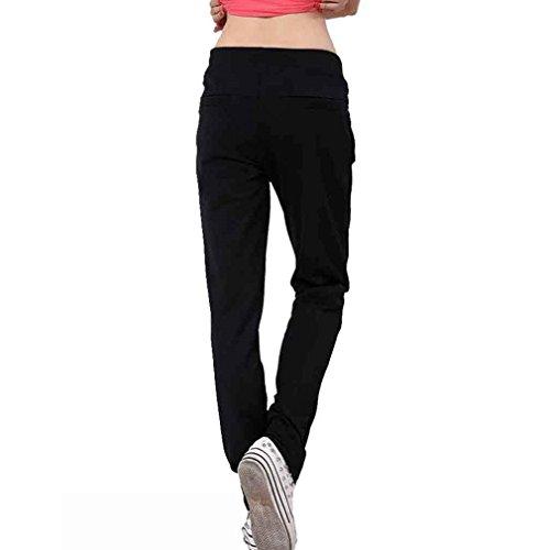 Casual Pantaloni Monocromo White Pantalone Moda Sportivi Grazioso Tasche Eleganti Fit Donna Pantaloni Libero Due Con Pantalone Rot Tempo Pantaloni Moda Women Slim Coulisse Giovane Jogging Dei tSYwqxRdq