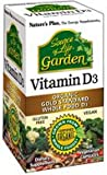 Nature's Plus Source of Life Garden Vitamin D3 60 Vc (3 Bottles)