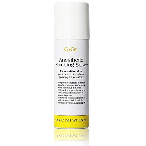 GiGi Anesthetic Numbing Spray 1.5 oz ( Pack of 3)