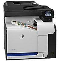 HEWLETT PACKARD - LASER JETS HP LaserJet Pro 500 M570DN Laser Multifunction Printer - Color - Plain Paper Print - Desktop<br>LASERJET PRO 500 MFP M570DN CLR LASER P/S/C/F 30/31PPM<br>Printer, Scanner, Copier, Fax - 31 ppm Mono/31 ppm Color Print - 600 x 600 dpi Print - Touchscreen LCD - 1200 dpi Optical Scan - Automatic Duplex Print - 350 sheets Input - Gigabit Ethernet - USB