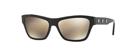 Versace 0VE4344 women Black - Wayfarer Sunglasses Versace