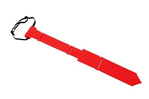 - elope Bricky Blocks Red Neck Tie
