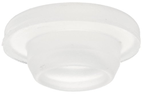 Wheaton 224100-178 Rubber 20mm Straight Plug Style Stopper, Silicone (Case of 1000) by Wheaton