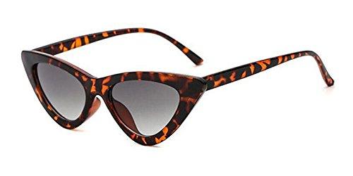 De Gafas De Mal Gafas Sol Ojo C13 Vintage Leopard Gafas Matices Blanco TIANLIANG04 Hembra Mujer Gafas Sexy Amarillo Diseño De De C10 Uv Gray Sol Gato n70v76