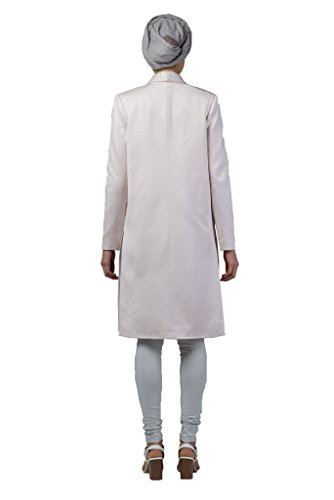 Imaima Women Long Slim Fit Cut Shiny Maxi Mink Coat Summer Coats 100% Cotton by Imaima