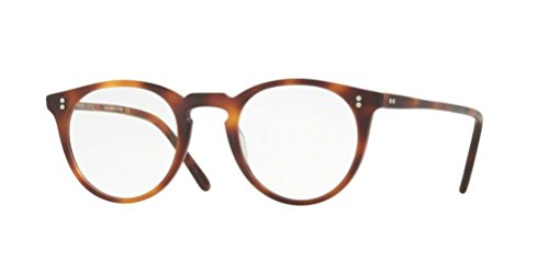 Oliver Peoples - O'Malley - 5183 47 - Eyeglasses (SEMI MATTE DARK MAHOGANY, - O People Malley Oliver