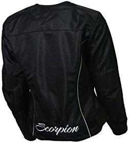 ScorpionExo Verano Womens Textile Sport Motorcycle Jacket Black, XX-Large