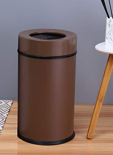 ZZLT Sensor Trash Can 13L/3.4 Gallon, Automatic Trash Can,Infrared Motion Sensor Trash Can (coffee)