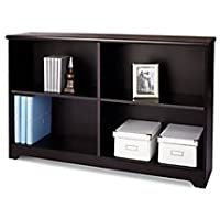 Realspace Magellan Collection 2-Shelf Sofa Bookcase, Espresso Item # 547947
