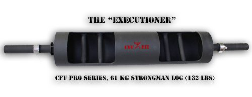 CFF Pro Series ''Executioner'' Dual Handle Strongman Log 61kg - Get Ready Strongmen and Cross Training by CFF